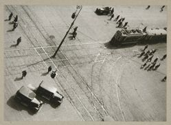 Turn of the Street Car Line, from The Alexander Rodchenko Museum Series Portfolio, Number 1: Classic Images