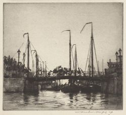 Bridge, Rotterdam (Chioggia: Fishing Boats)