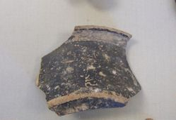 Black glazed fragment