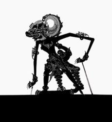 Shadow Puppet (Wayang Kulit) of Suwedo, from the consecrated set Kyai Nugroho