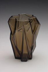 "Vase, ""Ruba Rombic"" Pattern"