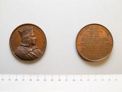 Bronze medal of Philippe II Roi