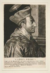 Portrait of Saint Charles Borromeo