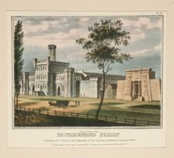 Moyamensing Prison from Views of Philadelphia and Its Vicinity