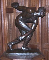 The Modern Discus Thrower