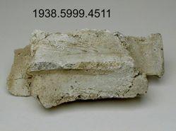 Plaster fragment