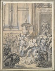 Odysseus Discovering Achilles at the Court of Lycomedes