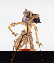 Shadow Puppet (Wayang Kulit) of Tirtonoto, from the consecrated set Kyai Nugroho