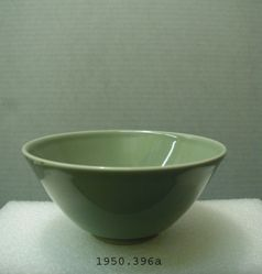 Celadon bowl with flaring sides
