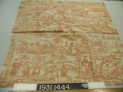 """Length of printed linen, """"Dr. Syntax' Tour of the Lakes"""""""