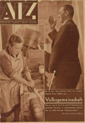 AIZ (Arbeiter Illustrierte Zeitung) (Worker Illustrated Newspaper), no. 20 (16 Mai 1935)