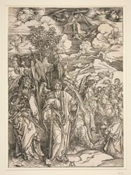 The Four Angels Holding the Winds, from the series The Apocalypse