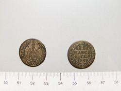 2 Marks of Franz I Stephan von Lothringen, Holy Roman Emperor from Aachen