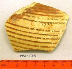 Ovoid oinochoe fragment