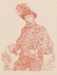 Autoritratto in costume