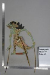 Shadow Puppet (Wayang Kulit) of Kenyawandu, from the set Kyai Drajat