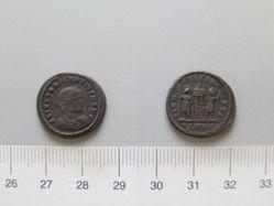 Nummus of Constantine I for Constantius II from Cyzicus