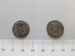 Coin of Constantine I, Emperor of Rome from Cyzicus