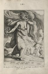 Envy, plate 4 of 9 from the serries Virtues and Vices