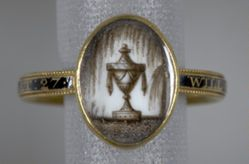 Mourning Ring for William Haynes