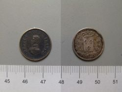 1/2 Franc from Strasbourg with Louis Philippe I, King of the French