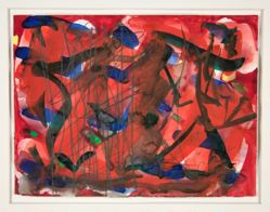 Untitled [Red abstraction]