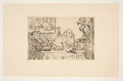 La gourmandise (Gluttony), from the portfolio Les péchés capitaux (The Deadly Sins)