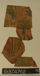 Brocaded fragments of double cloth