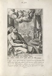Solomon, 1 of 8 prints of the series Eight Repentant Sinners from the Old and New Testament