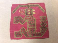 Textile with Animal Motif