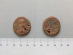 Coin of Trajan Decius, Emperor of Rome from Rhesaena