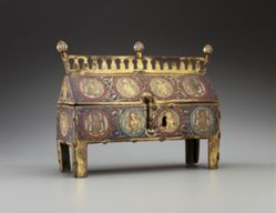 Reliquary Chasse with Angels