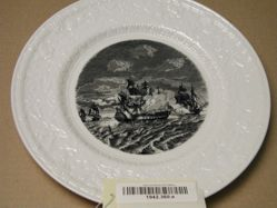 Plate: The Bon Homme Richard and the Serapis