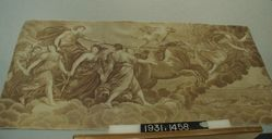 Length of printed cotton, after Guido Reni Aurora