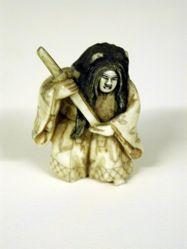 Netsuke : Kabuki actor