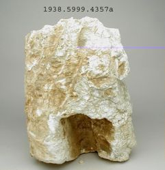 Fragments of sculpture of human