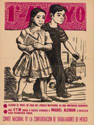 1º de mayo ... Comité Nacional de la Confederación de Trabajadores de México (May 1 ... National Committee of the Confederation of Mexican Workers)