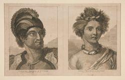 Tamahama, Emperor of Owyhee; and Obeea, Empress of Owyhee