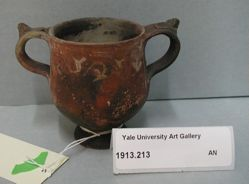 Two-handled cup or skyphos