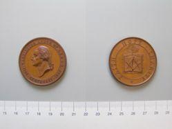Medal of George Washington commemorating the centenary of the Washington Masonic Lodge, Roxbury, Massachusetts