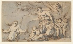Study for the Abduction of Rinaldo [?]