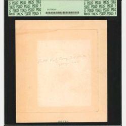 $5 National Bank Note face progressive essay proof