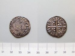 Silver groat of Alfonso IV from Barcelona