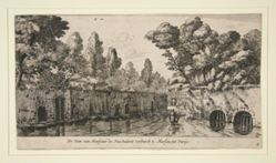 The Garden of Monsieur de Nue in S. Marsiou, suburb of Paris