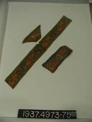 Piece of brocaded compound cloth