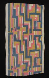 "Length of Fabric, ""Abstract"" Pattern"