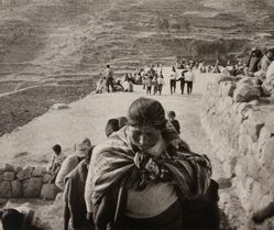 Pilgrims Marching in Festival (Inti Raymi)