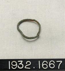 Crude Bronze Bracelet (?)
