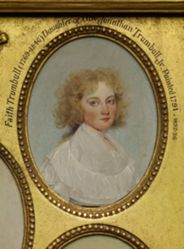 Faith Trumbull (Mrs. Daniel Wadsworth) (1769-1846)
