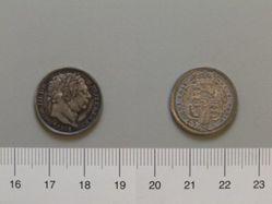 Silver Sixpence of George III